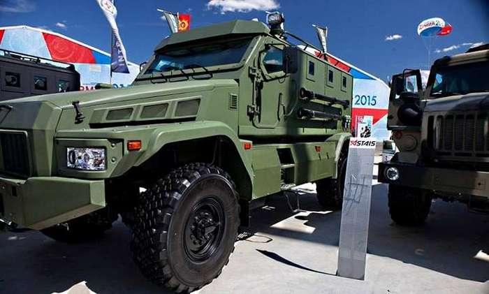МВД России закупает два первых бронеавтомобиля «Патруль».