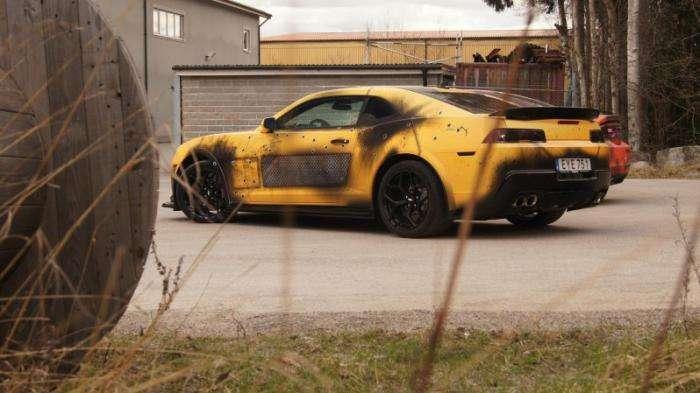 Постапокалиптическое преображение Chevrolet Camaro (9 фото)