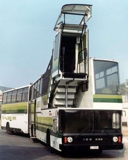 Ikarus 695 - уникальный автобус, который так и не пошел в серию