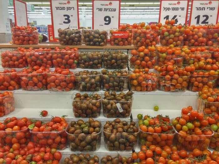 Фотоотчет о походе в обычный израильский супермаркет (41 фото)