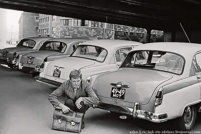 Как снимали фильм «Берегись автомобиля»