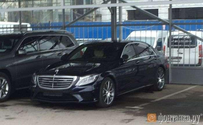 Александр Кокорин приобрел Mercedes за 12 млн рублей (2 фото)