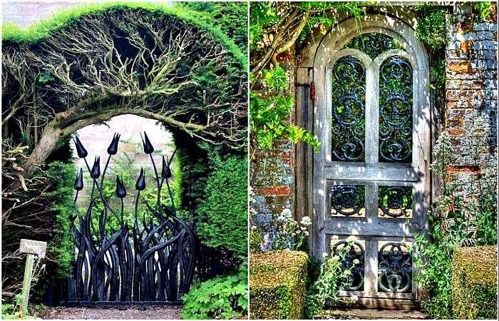 19 необычайно красивых калиток, которые станут украшением даже самого простого забора