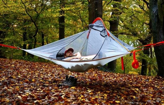 Суперлёгкая подвесная палатка для идеального отдыха