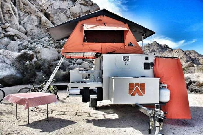 Трейлер Base Camp: комфортный отдых на природе для дружной компании