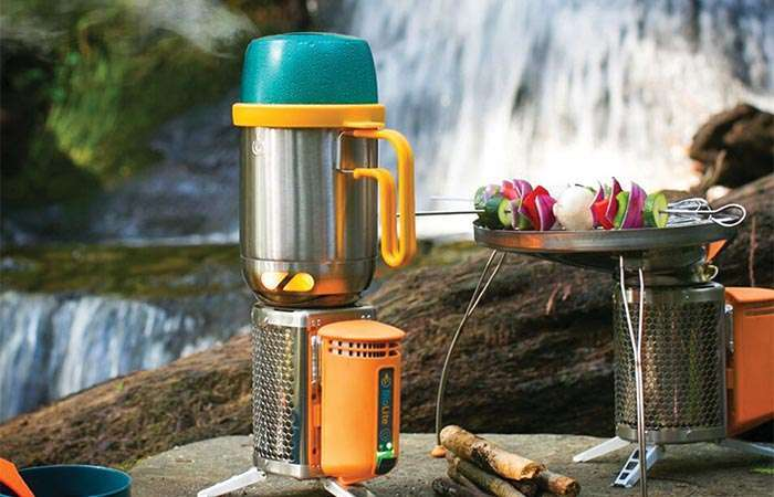 Универсальный чайник для готовки любых блюд на природе