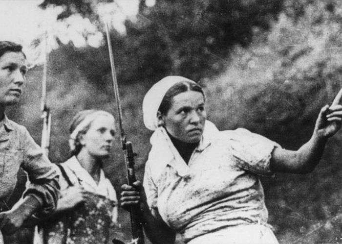 Великая Отечественная война глазами женщин (19 фото)