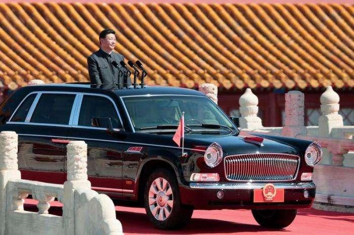 FAW HongQi HQE - машина китайского генсека (17 фото)