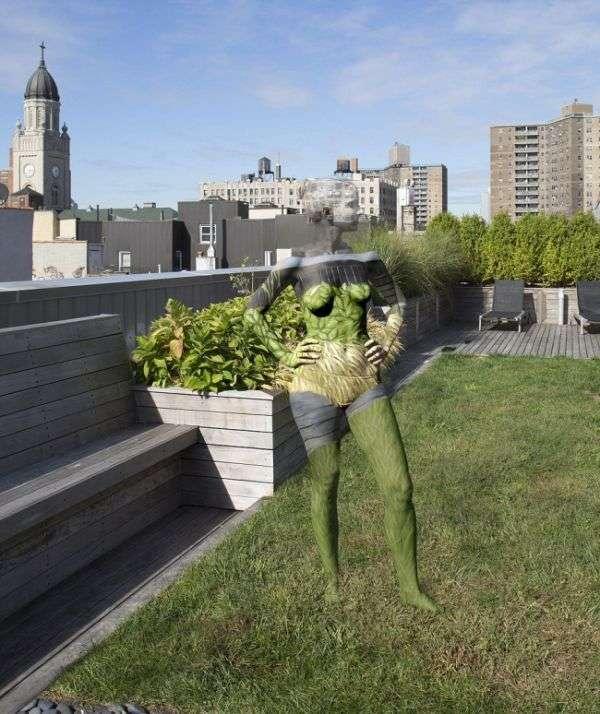 Необычный боди-арт от американского художника Трины Мерри (20 фото)