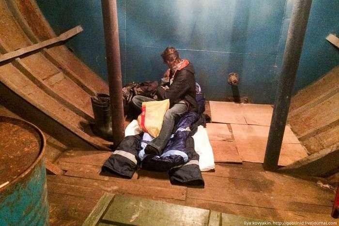 Как добывают палтуса на Колыме