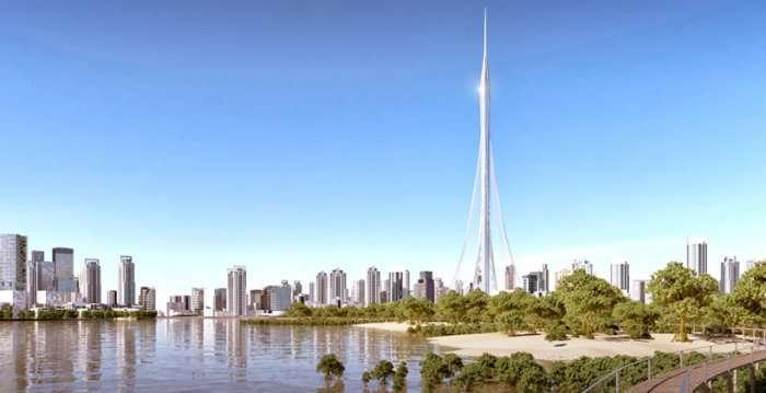 Проект самого высокого здания в мире (6 фото)