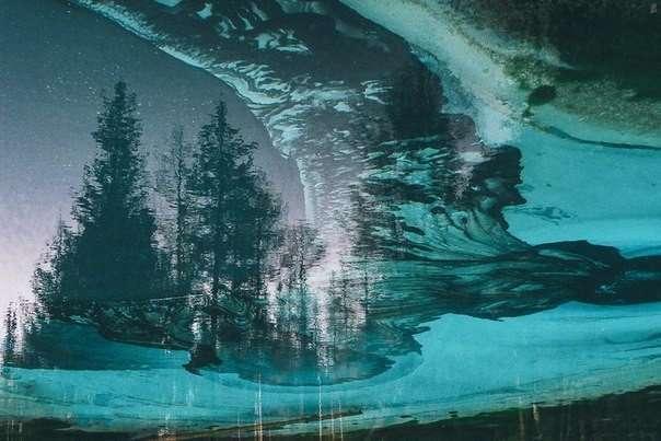 Живое гейзерное озеро на Алтае (6 фото)