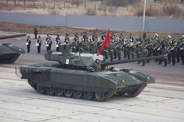 Военная техника на репетиции Парада Победы 2016 года