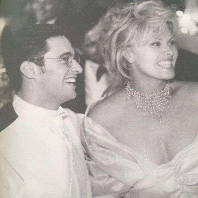 Хью Джекман с супругой Деборрой-Ли Фернесс на Карибах