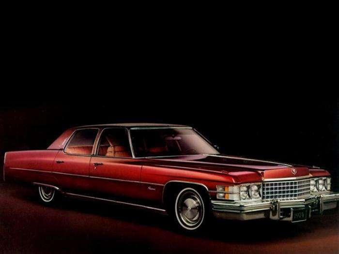 Король дорожных яхт: Cadillac Fleetwood Brougham, d'Elegance и Talisman (20 фото)
