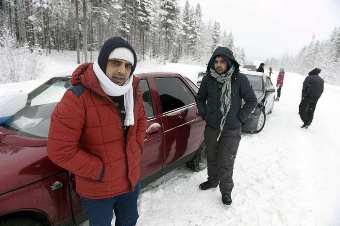 Распродажа брошенных российских машин в Финляндии