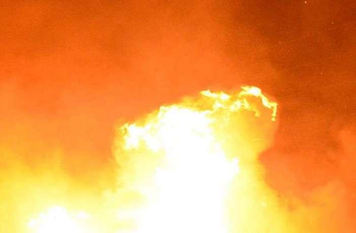В Чечне сожгли дом пожаловавшегося Путину на Кадырова жителя