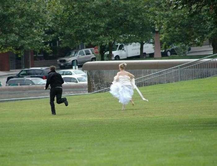 Жених удрал со свадьбы, не заплатив за банкет