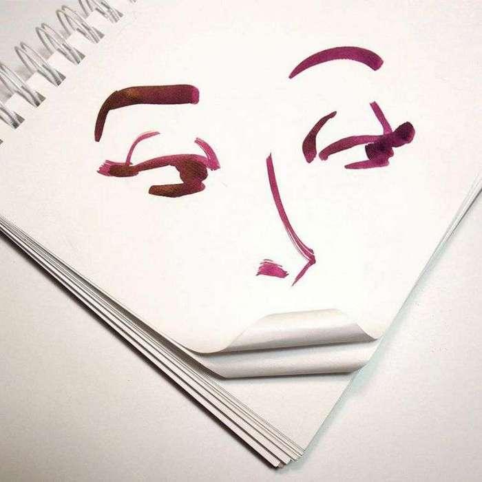 Искусство повсюду: находчивый художник мастерски включает предметы быта в свои рисунки (21 фото)