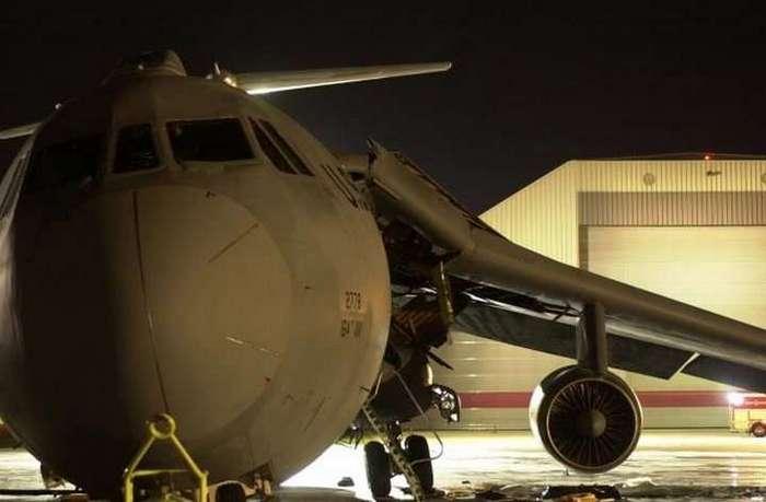 История о том, как американцы самолёт заправляли