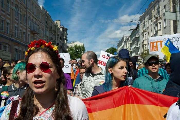 Гей-парад в Киеве