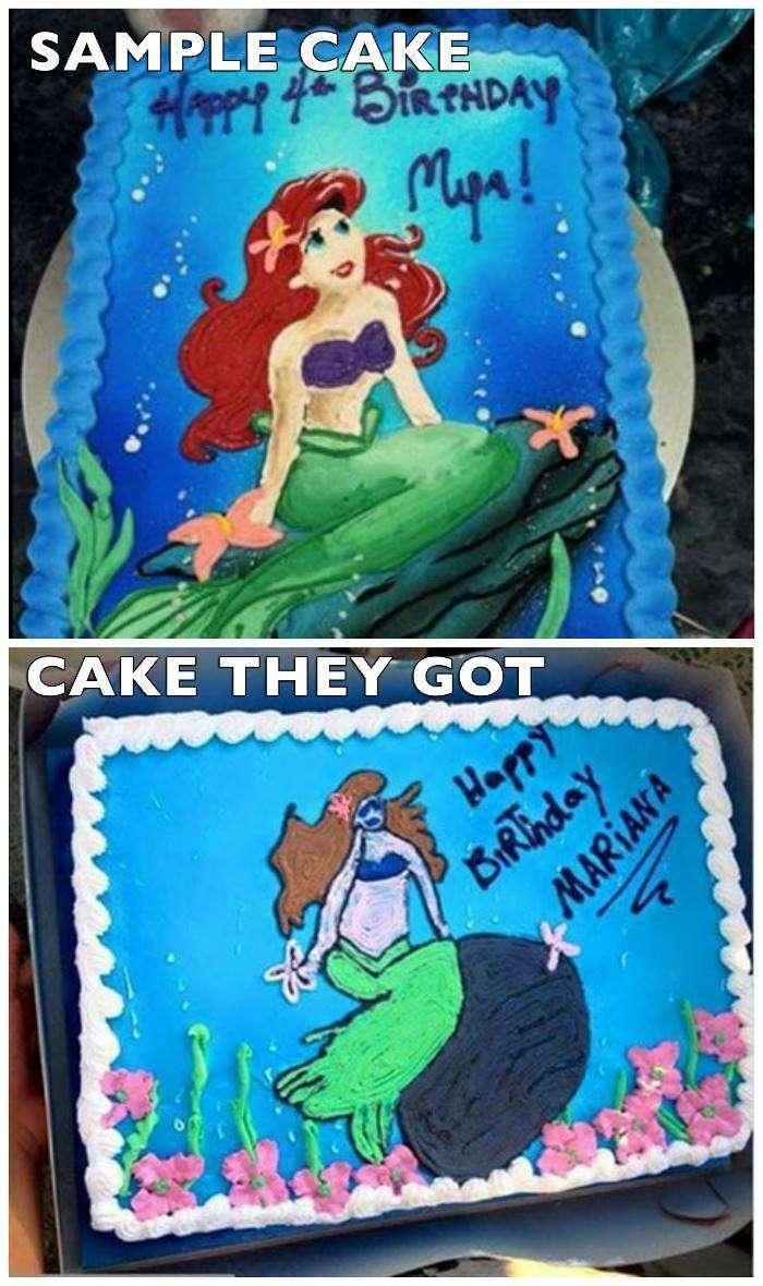 16 до боли смешных неудавшихся тортов ко дням рождения детей (16 фото)