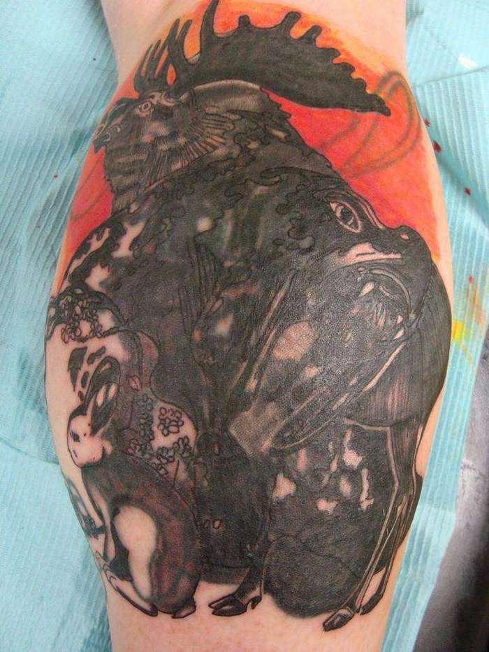 Странные и неудачные татуировки (27 фото)