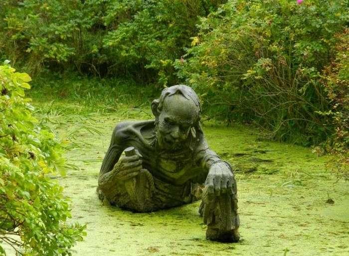 Веселенькие статуи в парке индийской культуры в Ирландии (6 фото)