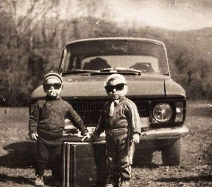 Душевные фото доглянцевой эпохи