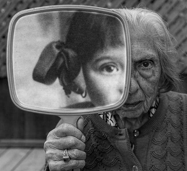 91-летняя женщина стала фотомоделью (11 фото)