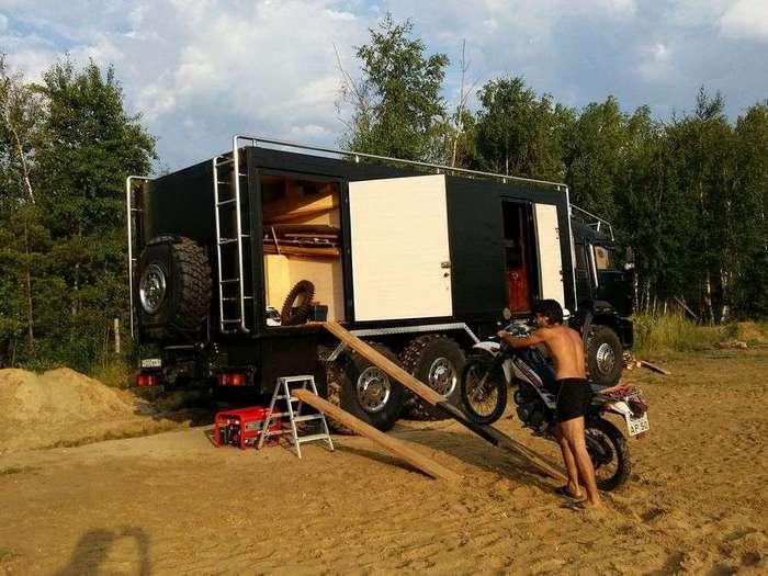 Камаз - дом на колесах
