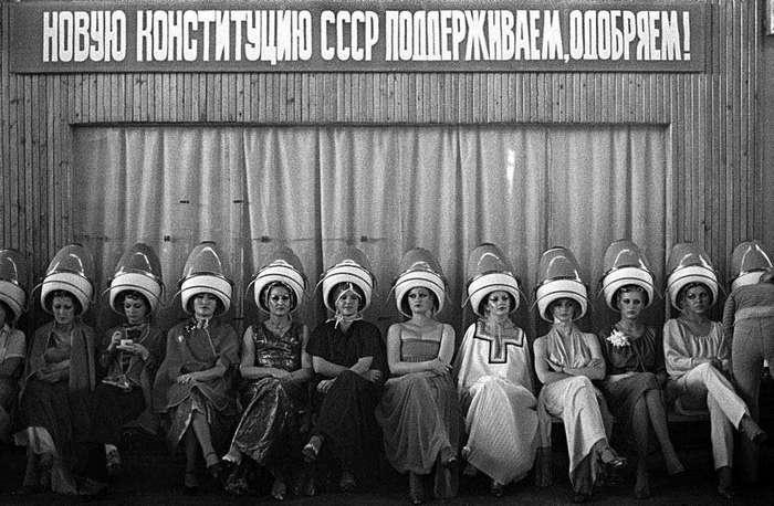 Советская жизнь на снимках Игоря Гаврилова
