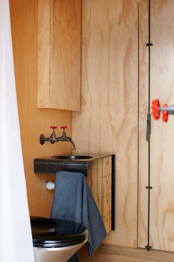 Мобильный деревянный дом в Новой Зеландии