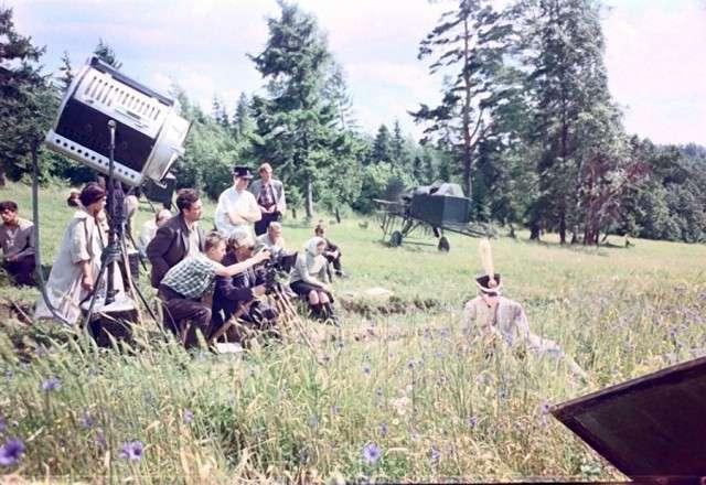 Редкие снимки со съемочных площадок советских фильмов