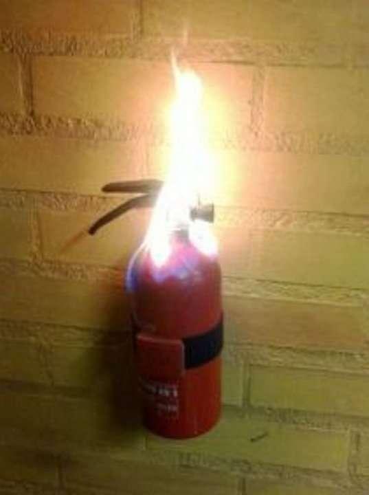 Зажигательная противопожарная безалаберность