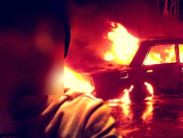 Костромская пара поджигала дома и машины, чтобы делать селфи на фоне пожара