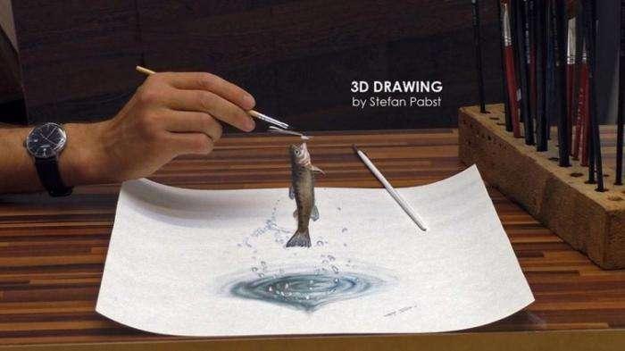 Феноменальные 3D-рисунки, которые гарантированно обманут ваш мозг (25 фото)