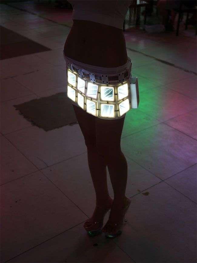 Секси-киборг - китайская любительница высоких технологий с нереальной фигурой и острым умом