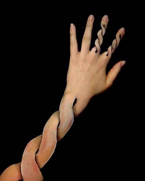 Мастер макияжа Лиша Симпсон создает удивительные иллюзии (21 фото)