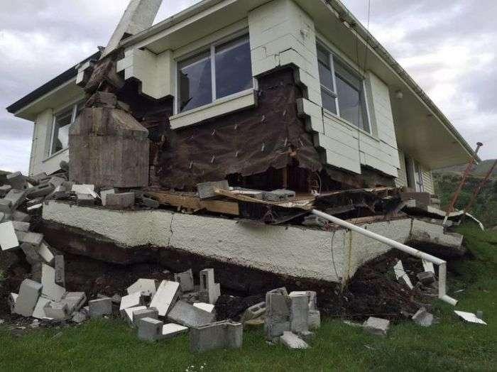 Разрушительное землетрясение в Новой Зеландии (20 фото)