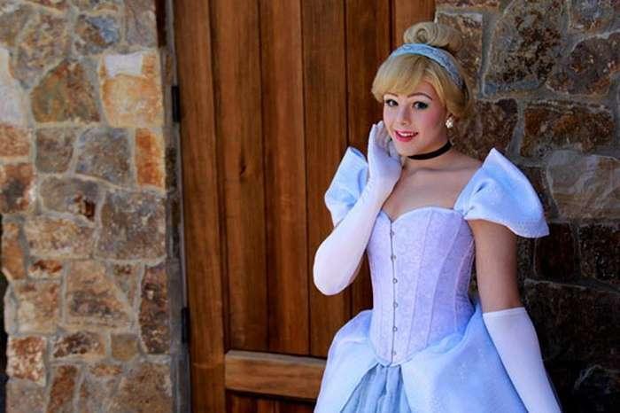 Визажист превращает себя в диснеевских принцесс (12 фото)