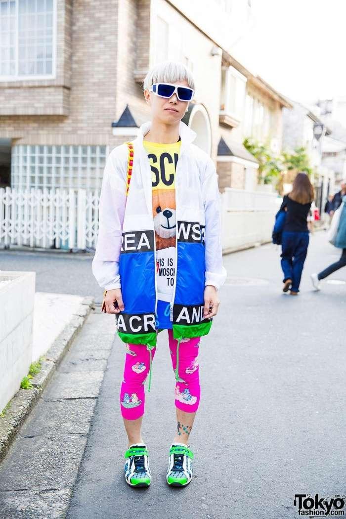Модники и модницы на улицах Токио (24 фото)