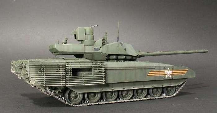Т-14 (Армата). Таким этот танк, вы еще не видели