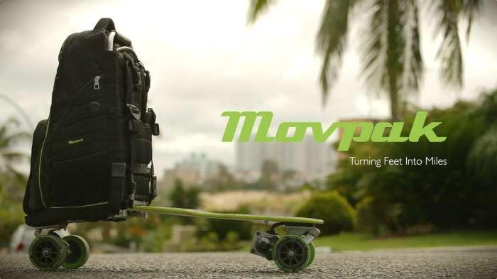 Movpak – идеальный транспорт для городского путешественника