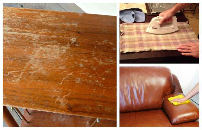 3 эффективных способа убрать царапины на деревянной и кожаной мебели