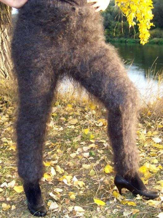 Оренбургские пуховые лосины покоряют интернет (11 фото)