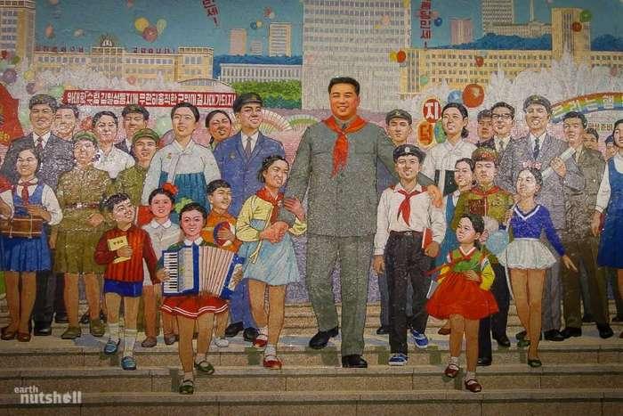 Внутри метро Северной Кореи