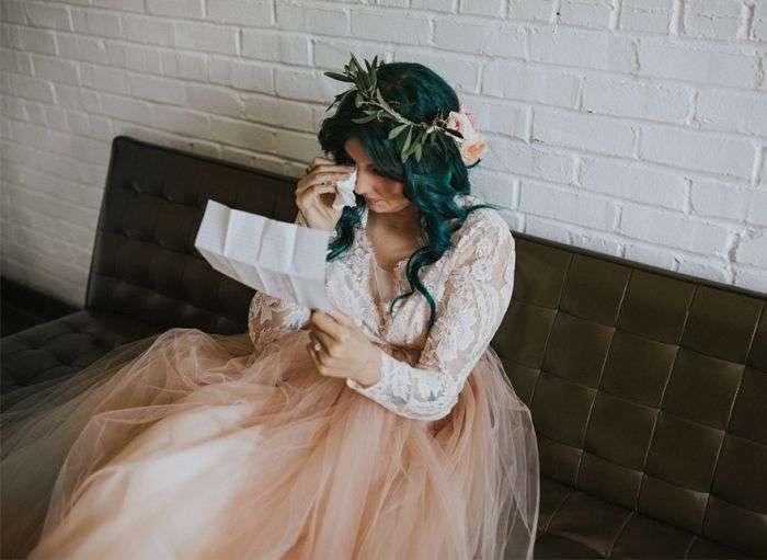 Чудеса любви: парализованная невеста сама подошла к алтарю (15 фото)