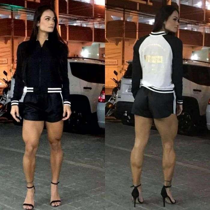 Любимое упражнение бразильской фитнес-модели - приседания