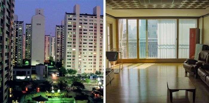 Типовое жилье среднего класса в разных странах мира